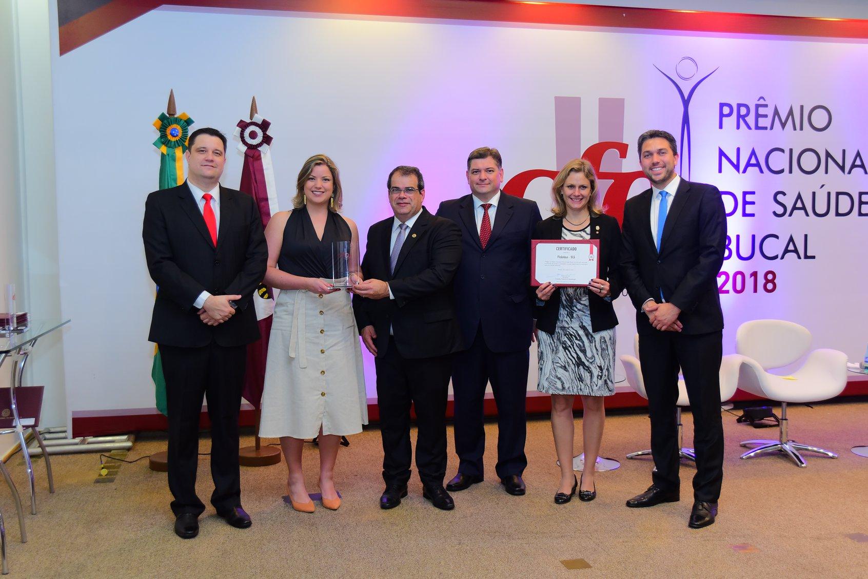Prêmio Nacional CFO de Saúde Bucal - 2018
