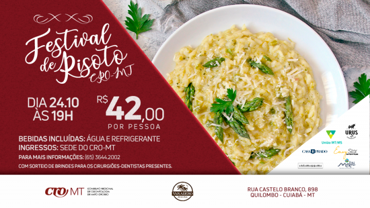 Festival do Risoto CRO-MT