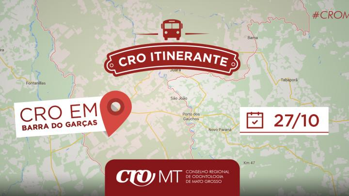 CRO Itinerante - Barra do Garças MT